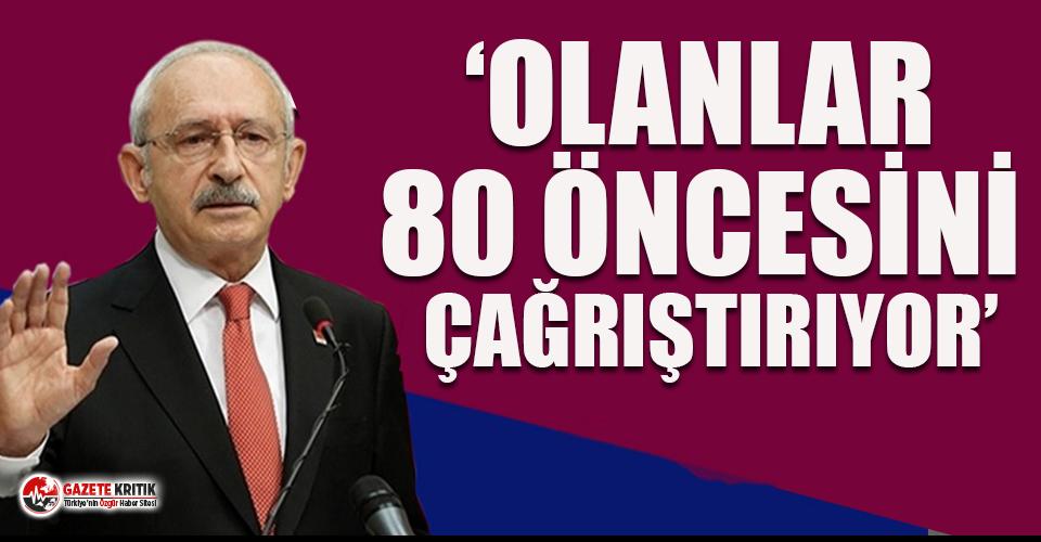Kemal Kılıçdaroğlu, gazetecilerin hedef alınmasını ve siyasilere yapılan saldırıları yorumladı