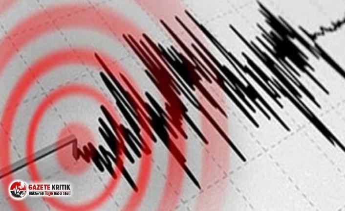Kıbrıs'ta şiddetli deprem
