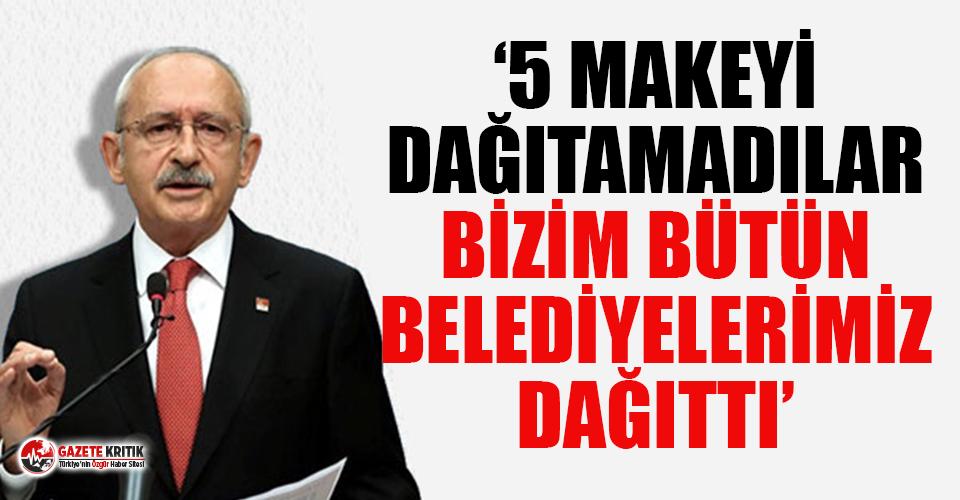 Kılıçdaroğlu: Erdoğan'ın oturup kalkıp teşekkür etmesi gerekiyor