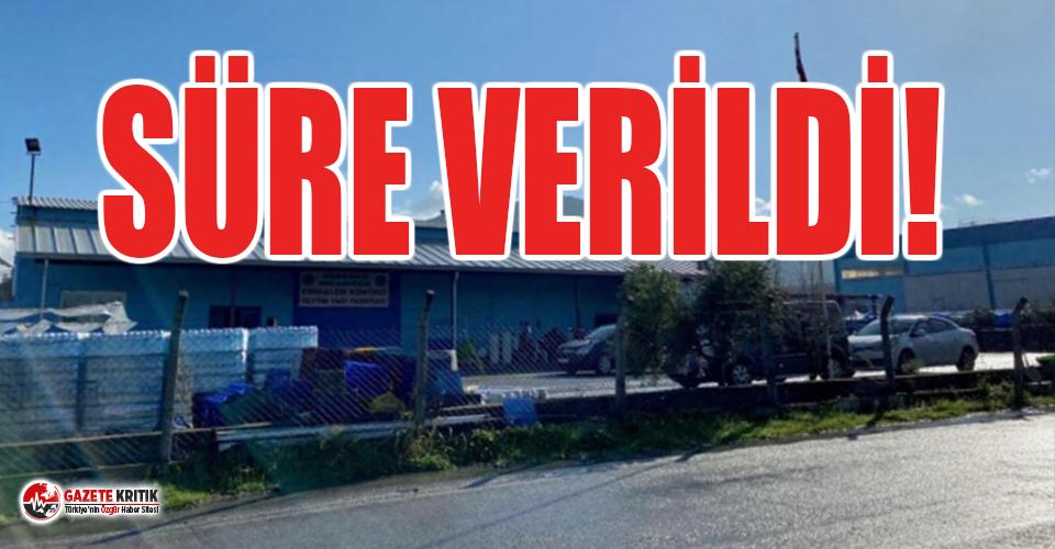 Menemen Belediyesi'ne ait fabrikaya 2.5 milyon...