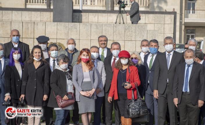 Mersin'de 10 Ocak çalışan gazeteciler günü...