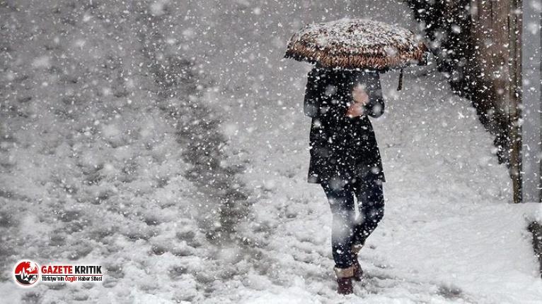 Meteoroloji'den bir kar uyarısı daha: Bu geceye...