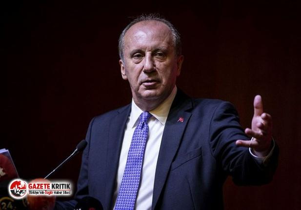 Muharrem İnce'den 'Memleket Partisi' açıklaması!