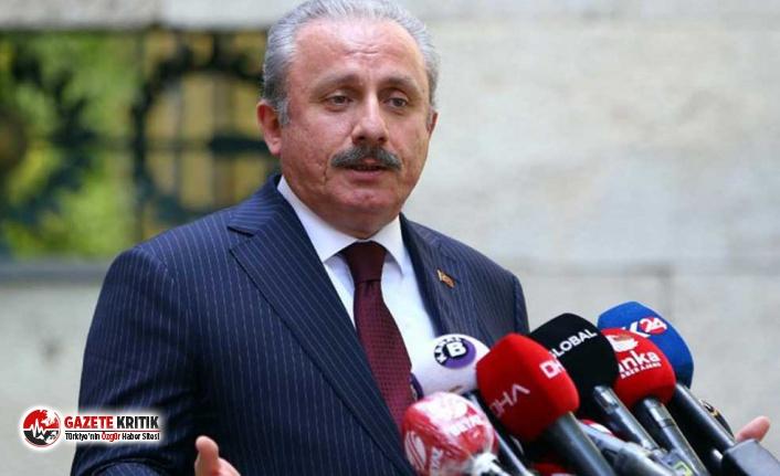 Mustafa Şentop'tan itiraf gibi Erdoğan açıklaması