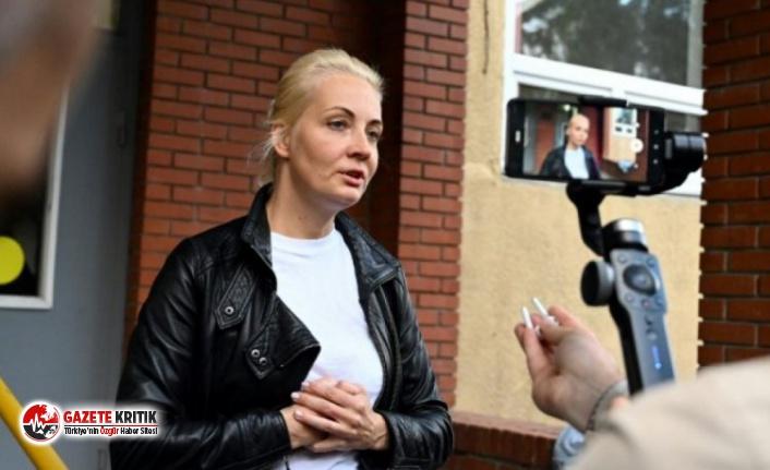 Rus muhalif Navalni'nin eşi gözaltına alındı