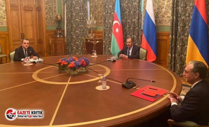 Rusya, Azerbaycan ve Ermenistan liderleri üçlü...