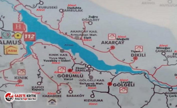Sağlık Bakanlığı haritasında Alevi köyleri fişlendi