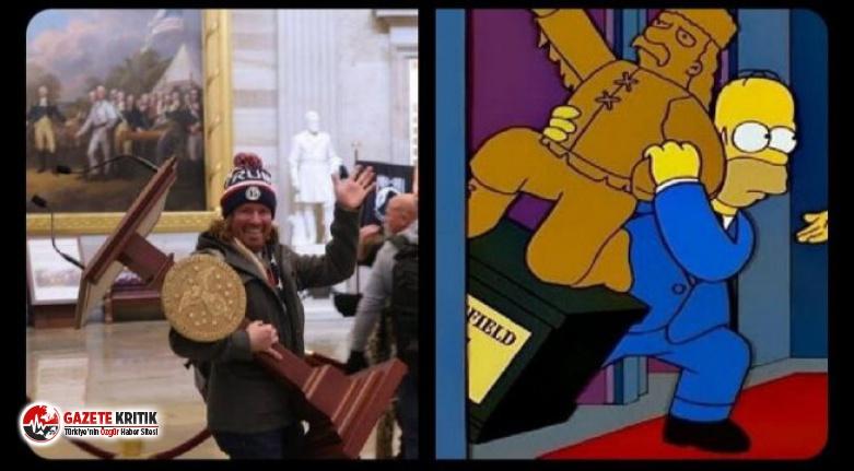 Simpsonlar ABD darbesini de bilmiş