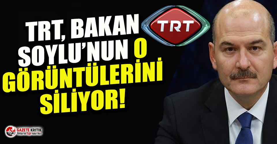 TRT İçişleri Bakanı Süleyman Soylu'nun eski...