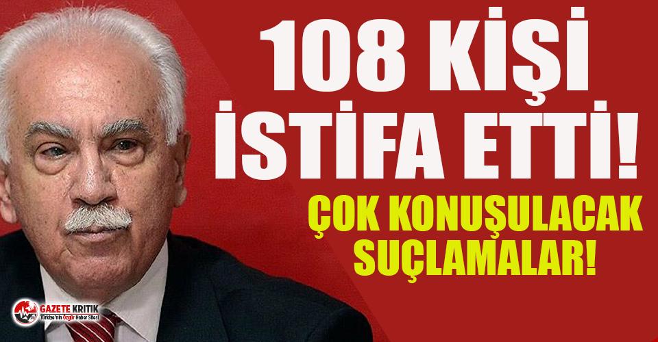 Vatan Partisi'nde istifa depremi: 108 kişi 'Bir devrimcinin bu partide işi olmaz' diyerek istifa etti