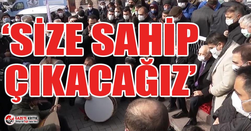 Vatandaşlar bu kez de Kırşehir'de Kılıçdaroğlu'na dert yandı