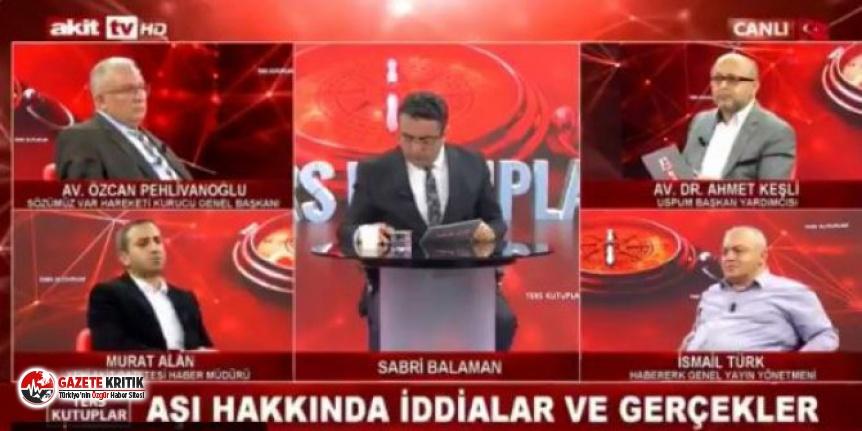 Yeni Akit'in haber müdürü Murat Alan'dan sağlıkçılara skandal sözler