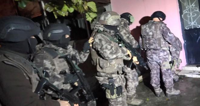 Bursa'da uyuşturucu tacirlerine 700 polisle şafak...