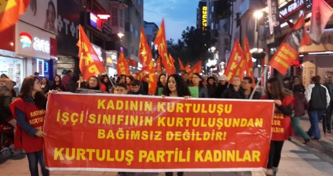 Halkın Kurtuluş Partisi:25 kasım Kadın Dayanışması...