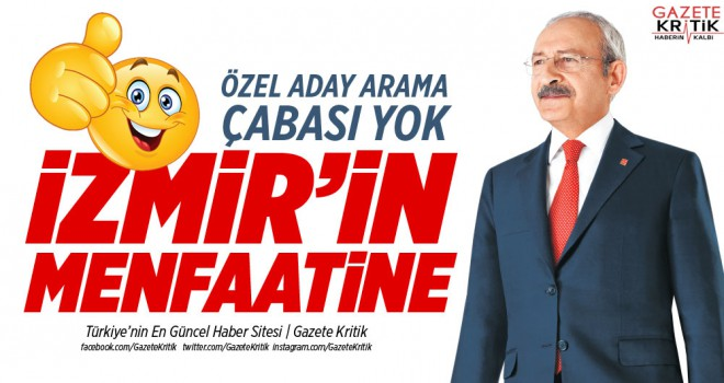 CHP'li Altay: İzmir'in menfaatinedir