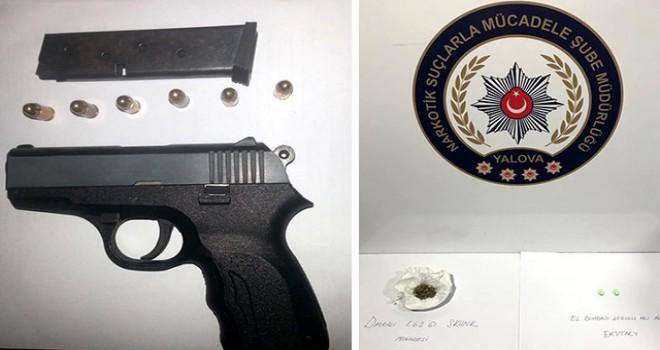 Yalova polisinden 'şok uygulama': 6 gözaltı