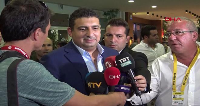 Antalyaspor Başkanı Öztürk: 'Ligi en iyi noktada...