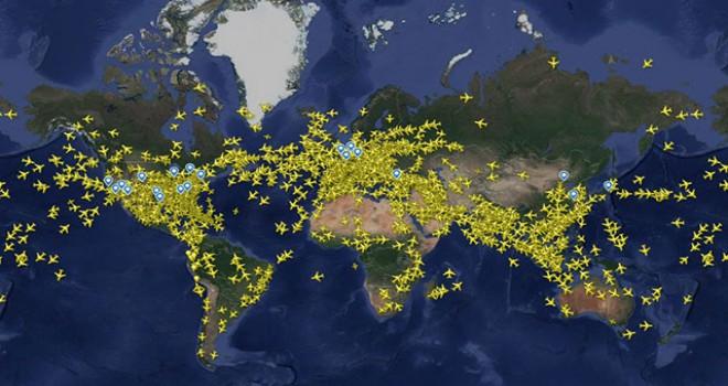 THY'nin 5 seferinde yolcular yeni yılı iki kere...