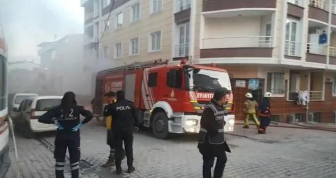 Esenyurt'taki yangında 7 kişi kurtarıldı
