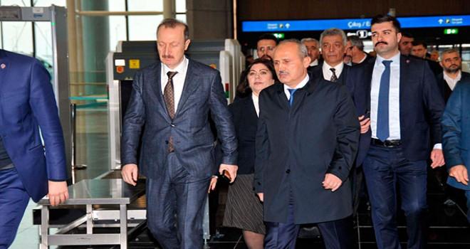 İstanbul Havalimanı'nda taşınma toplantısı