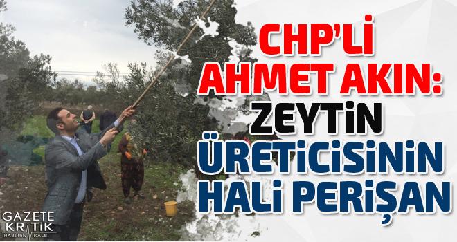 CHP'Lİ AHMET AKIN:ÜRETİCİ DEVLETTEN DESTEK BEKLİYOR,...