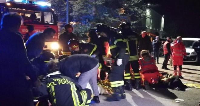 İtalya'da gece kulübünde izdiham: 6 ölü
