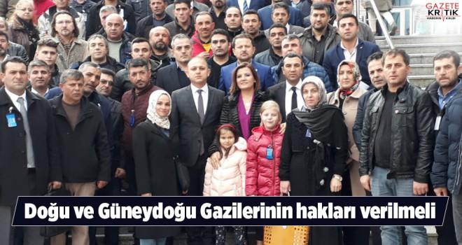 CHP'li Ahmet ÖNAL: Doğu ve Güneydoğu Gazilerinin...