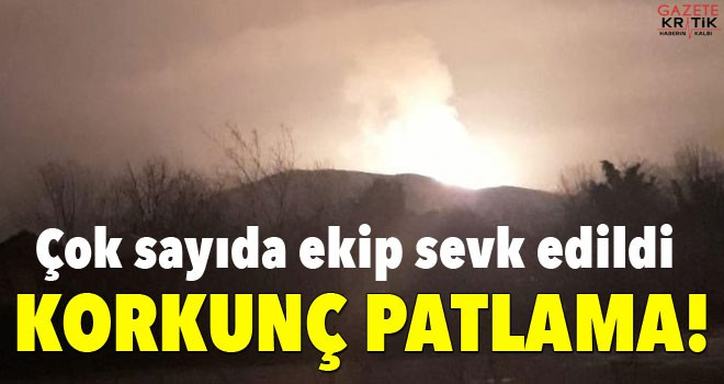 Son dakika: Sakarya'nın Arifiye ilçesinde patlama!