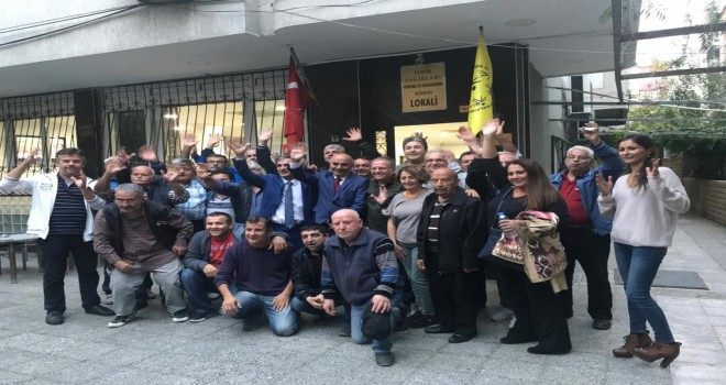 CHP'Lİ POLAT MANDUZ'DAN STK LARA ZİYARET