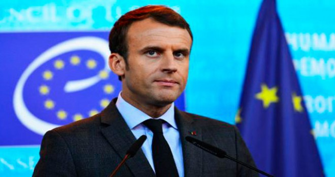 Macron: Bu şiddetin failleri değişim değil, kaos...