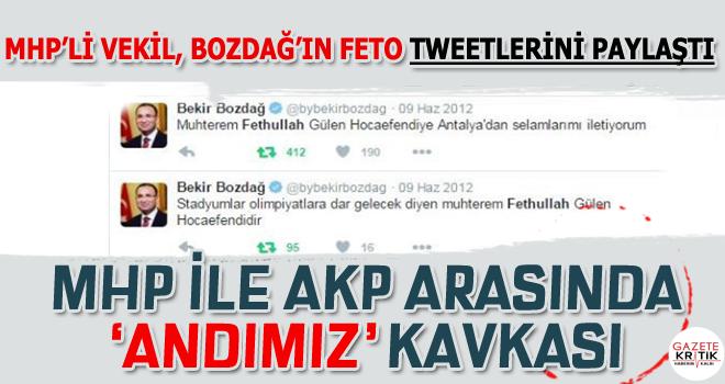 MHP ile AKP arasında 'andımız' kavgası