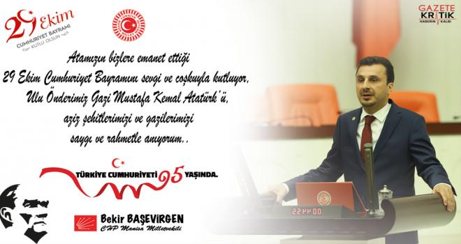 CHP'li Bekir BAŞEVİRGEN :Cumhuriyet; 'Fikren, İlmen...