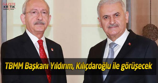 TBMM Başkanı Yıldırım, Kılıçdaroğlu ile görüşecek