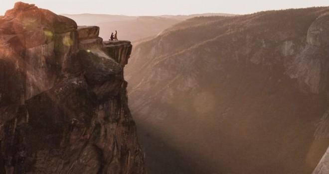 Dünyanın konuştuğu fotoğrafın ardından Yosemite'de...