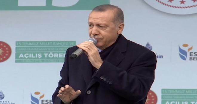 Cumhurbaşkanı Erdoğan: Her zaman teröristlerin...