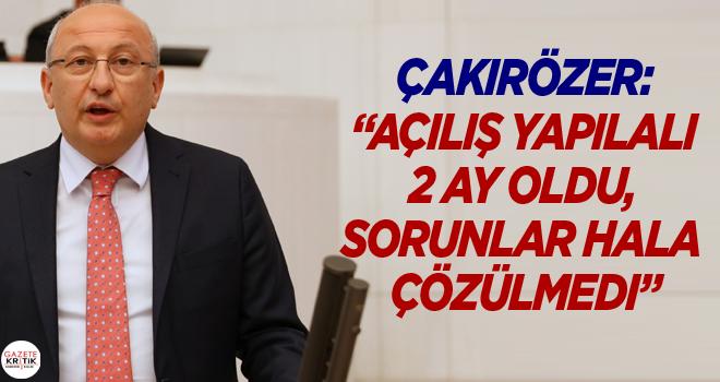 CHP Eskişehir Şehir Hastanesi'nde yaşanan sorunları...
