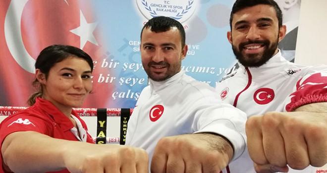 Kick boksta hedef Avrupa şampiyonluğu