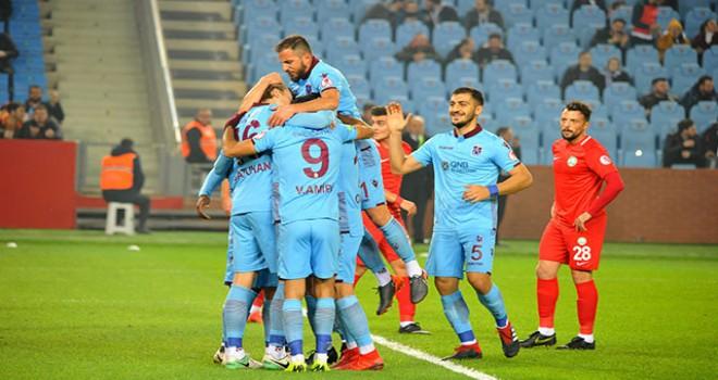 Trabzonspor-Sivas Belediyespor: 5-0