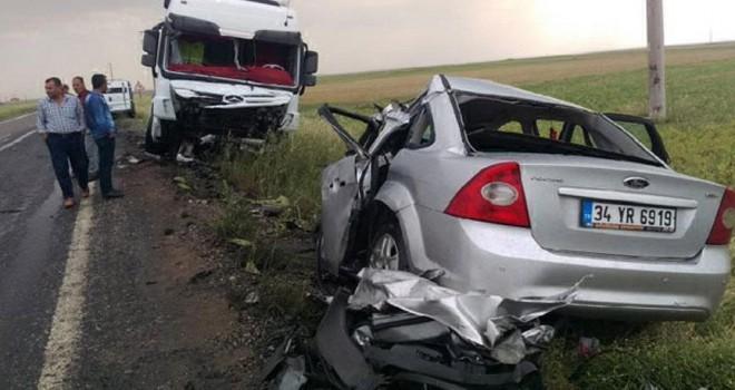 Mardin'deki feci kazada üç kişi hayatını kaybetti