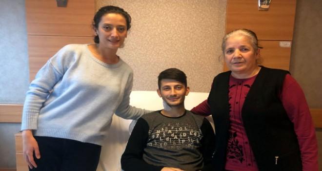 Annesi ve ablasından sonra kalp hastası Sergen de...
