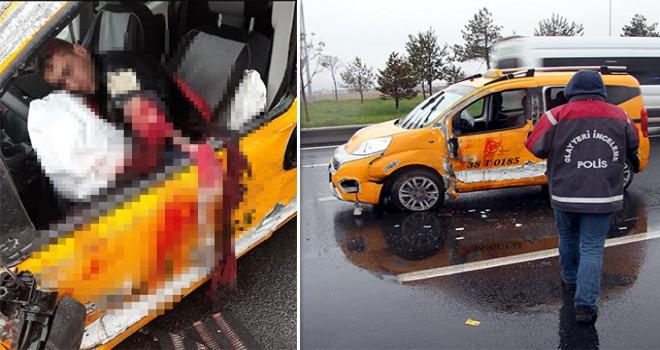 Çarşı izninde taksi çalan 2 er, polisten kaçarken...