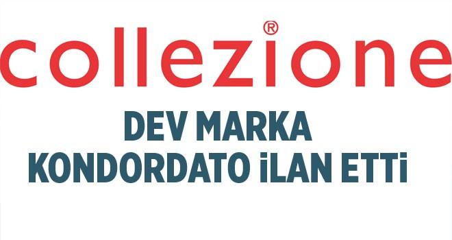 Ünlü giyim markası Collezione konkordato istedi