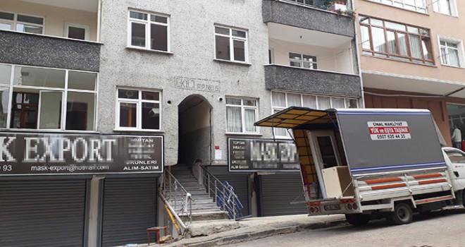 İstanbul'da yıkım kararı verilen bina boşaltıldı