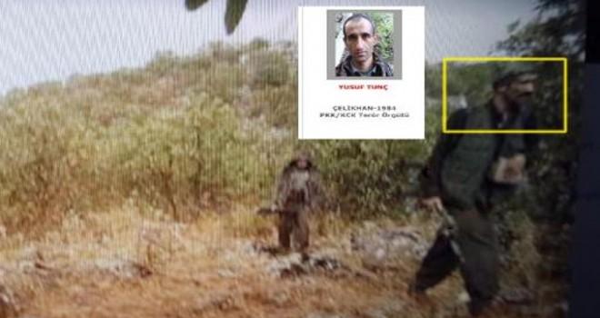 Adıyaman'da öldürülen teröristler 'fotokapan'...