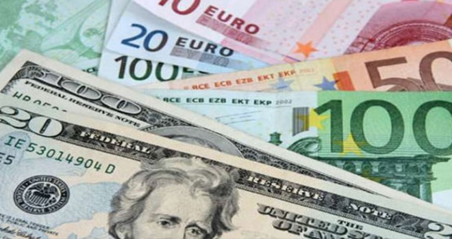 Dolar 5.35, euro 6.08 ve sterlin 6.86 lirada