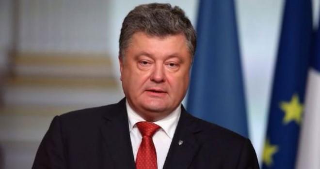 Ukrayna Devlet Başkanı Poroşenko bağımsız Ukrayna...