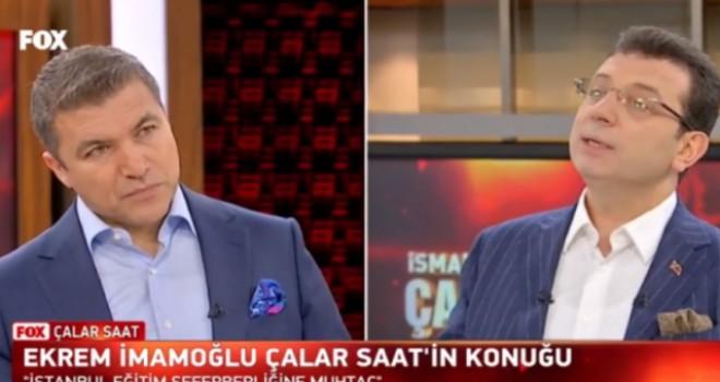 Ekrem İmamoğlu: 'İstanbul eğitim seferberliğine...