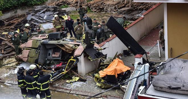 Başsavcılıktan helikopter kazasıyla ilgili açıklama