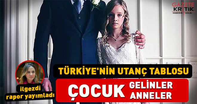TÜRKİYE'NİN UTANÇ TABLOSU ÇOCUK GELİNLER ÇOCUK...