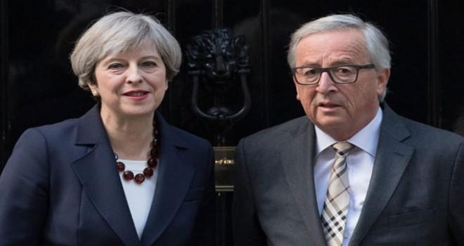 May ve Juncker'dan kritik Brexit görüşmesi
